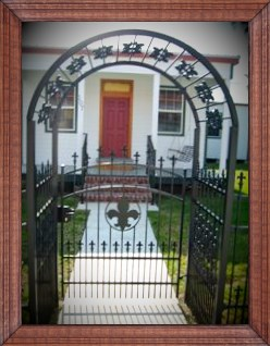 Ornamental Garden Gate